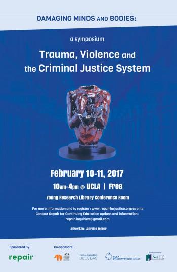 Damaging Minds Symposium poster