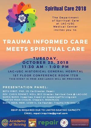 Trauma Informed Flyer thumbnail