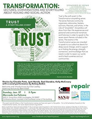 Trust flyer