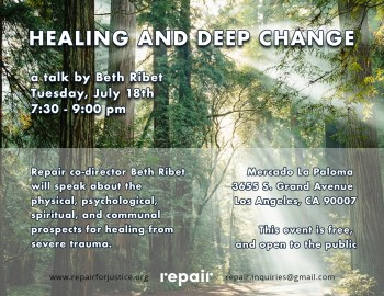 Healing and deep change flyer