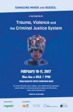 Damaging Minds Symposium poster