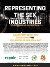 Representing the Sex Industries event flyer